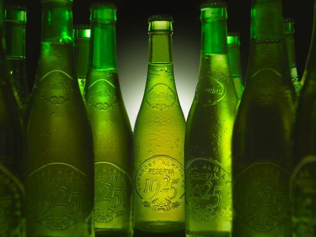 Fotografía Cerveza Alhambra Reserva 1925