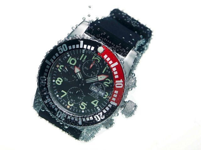 Fotografía de estudio para reloj Zeno Watch Basel