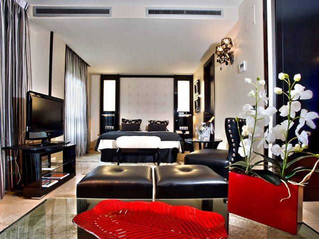Fotografía habitación hotel Husa
